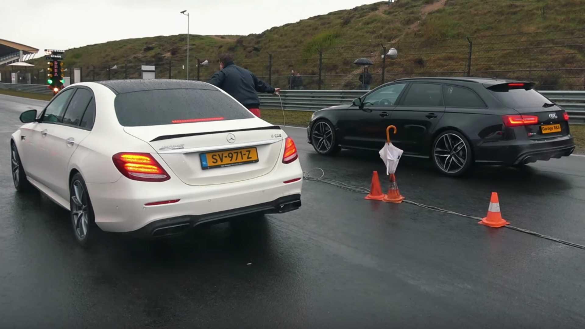 Топовый Mercedes-Benz E63 S – настоящий слипер-кар: снаружи ничего не выдает в нем «спортсмена», но стоит нажать на газ…