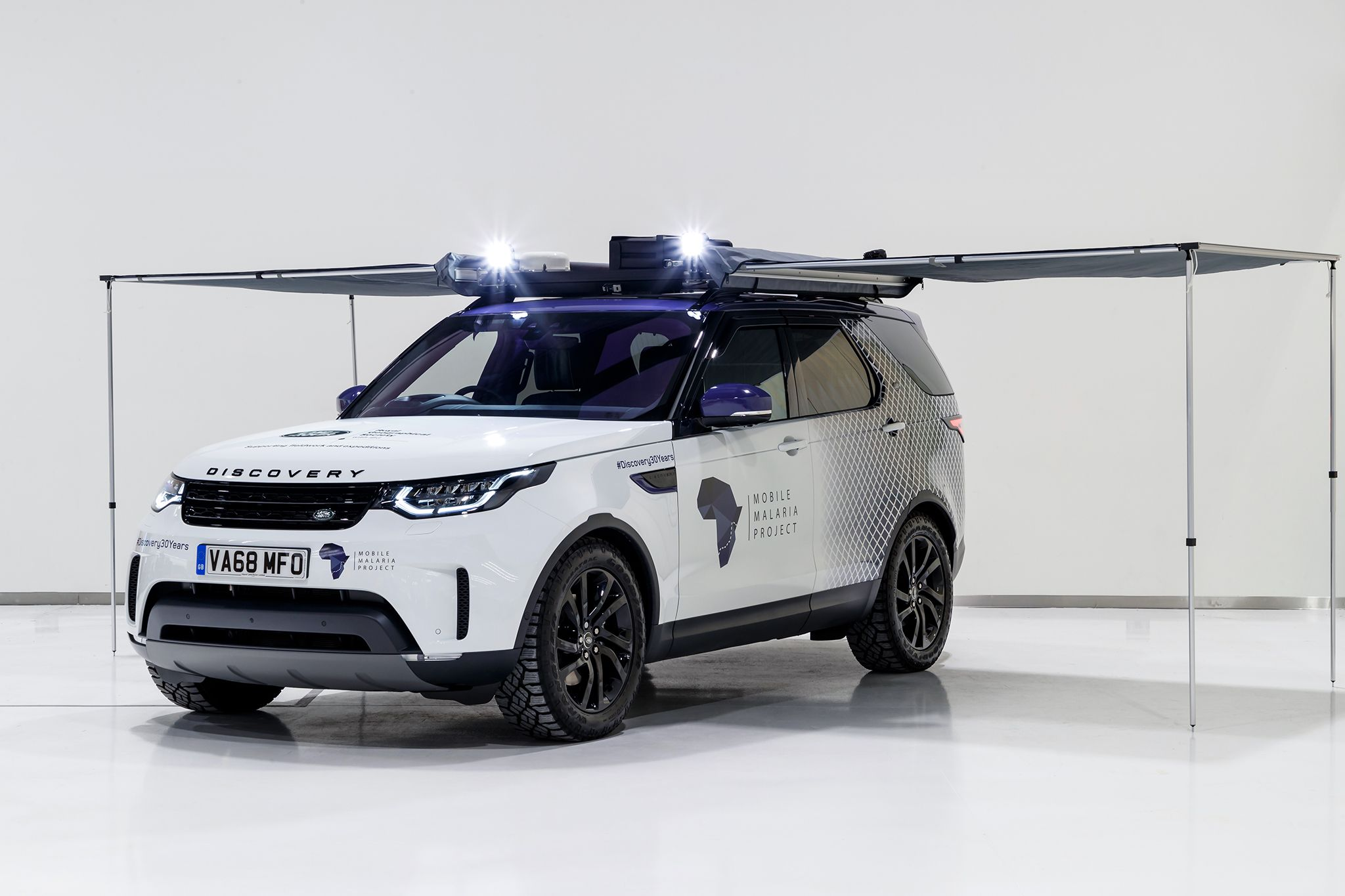 Land Rover Special Vehicle Operations has produced a special build of the Discovery SUV for the research team over at Mobile Malaria Project