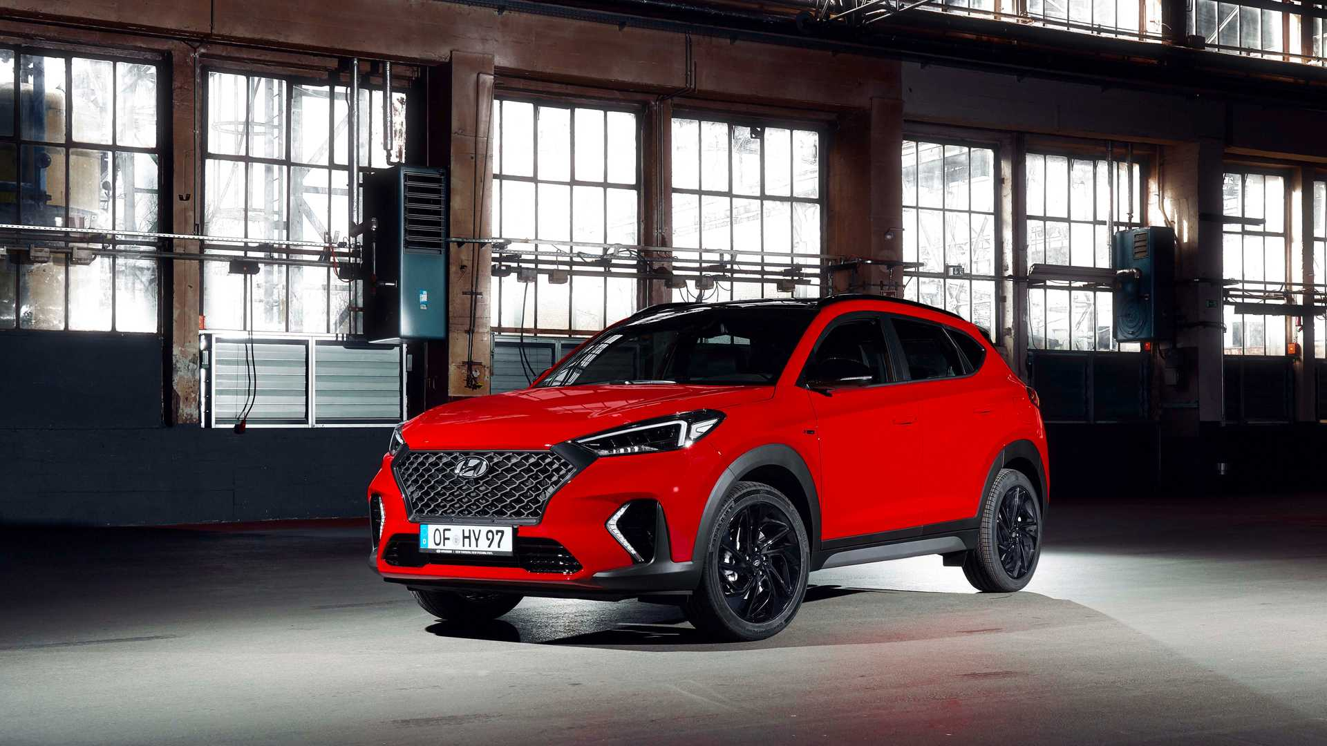 South Korean car manufacturer Hyundai has revealed the N Line performance version of its Tucson crossover/SUV