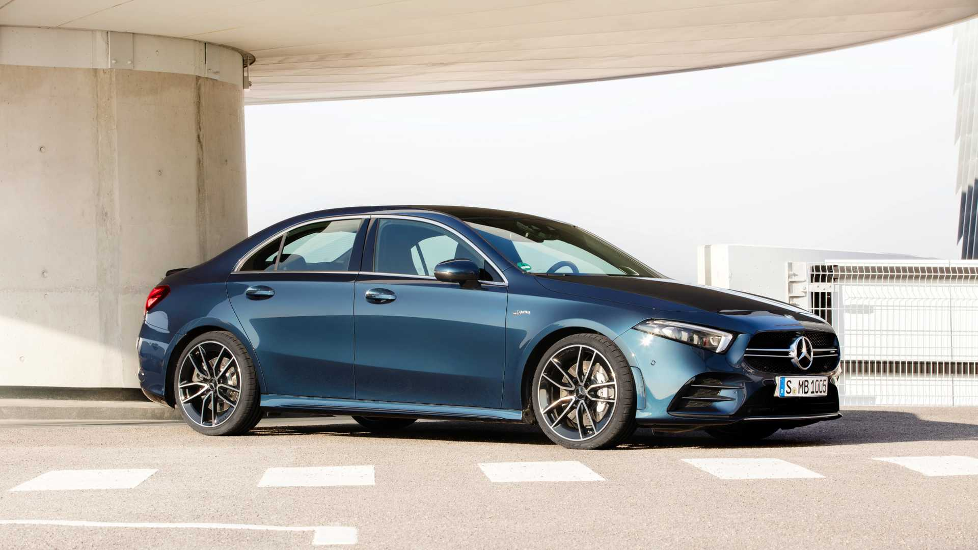 Mercedes-AMG A 35 arrives with over 300 horsepower