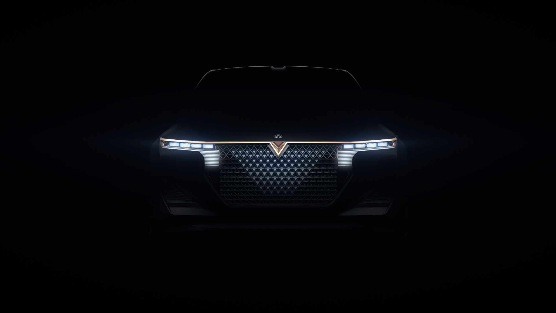Based on the teaser image provided, the new car is smaller than The X Concept