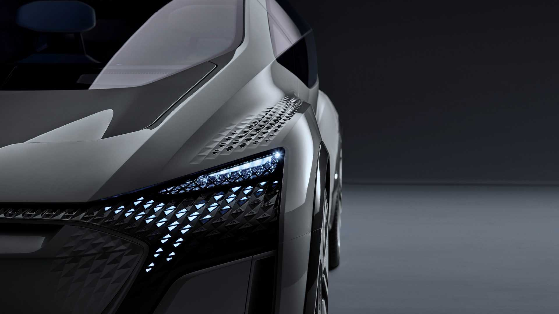 Audi has only recently revealed the first design sketches showing its innovative AI:me Concept and now we can look at the first real photographic image of the actual car