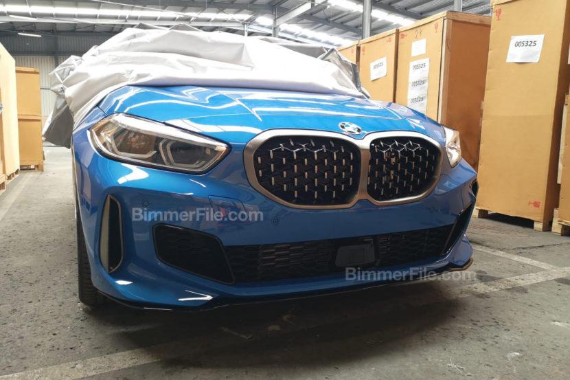 В Сети появились снимки BMW 1 серии следующей генерации