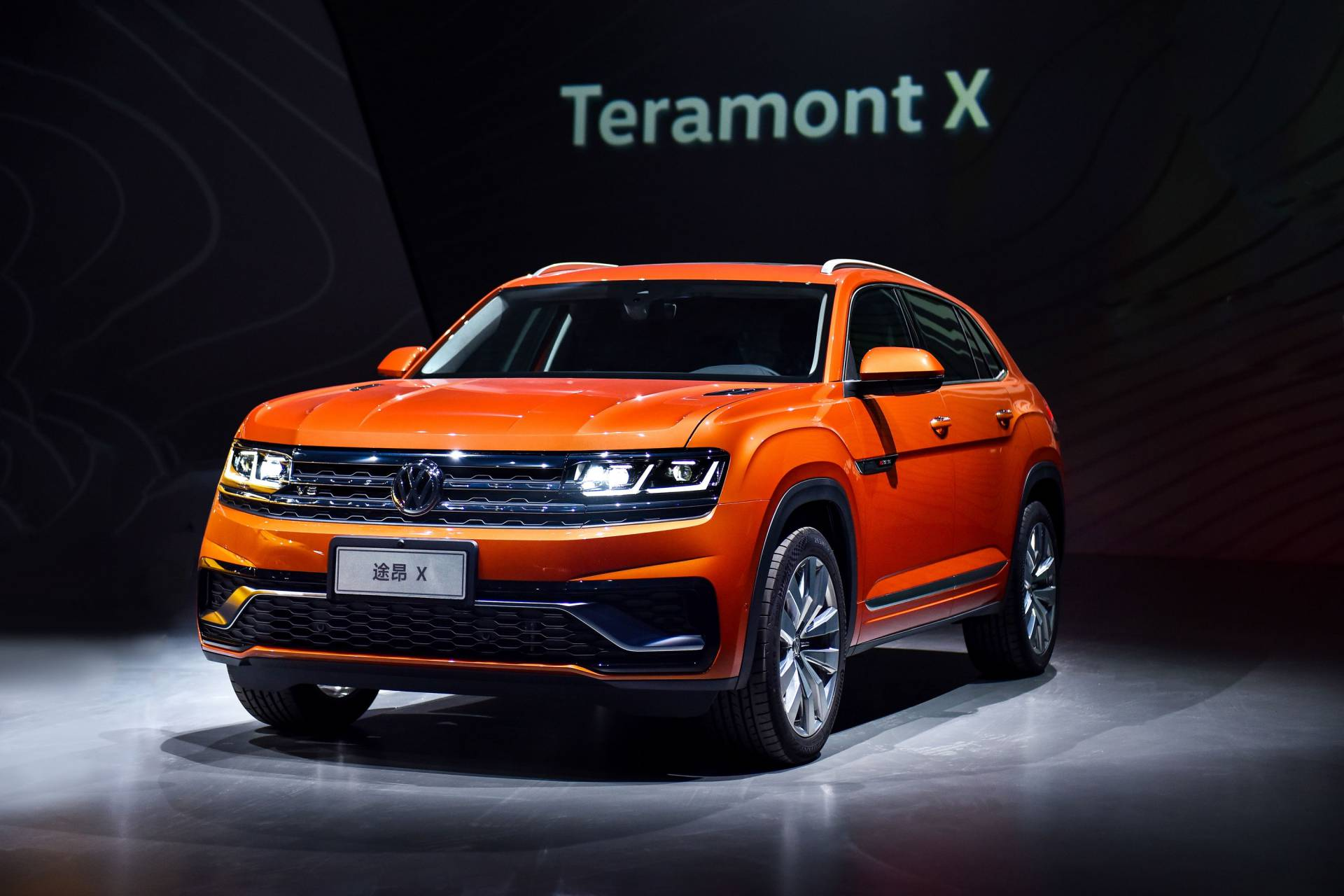 German car manufacturer Volkswagen AG has introduced two new crossover/SUV models at a special event in China