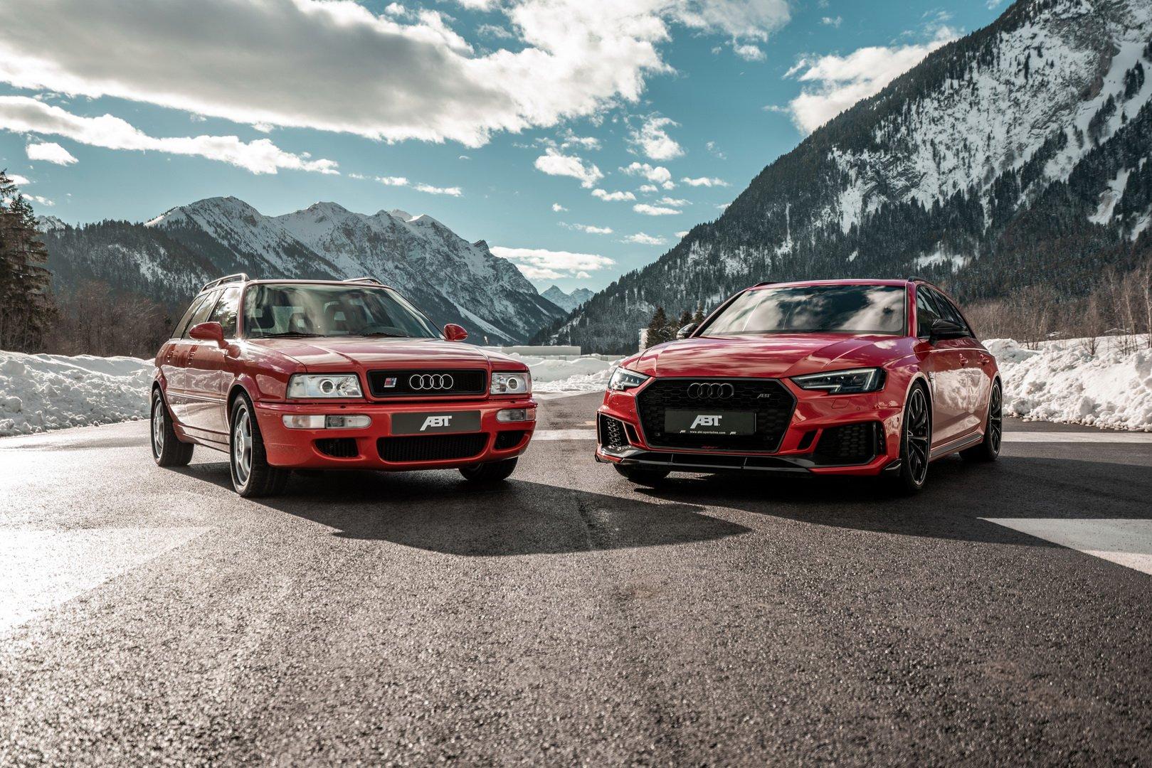 На днях команда выпустила серию фотографий, посвященную легендарной Audi RS2 Avant