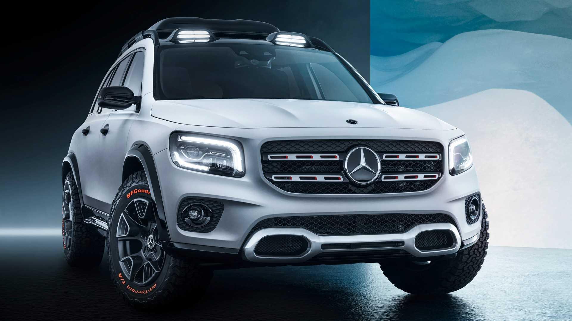 Немецкий автомобилестроитель Mercedes-Benz представил на мотор-шоу в Шанхае маленький «Gelandewagen»