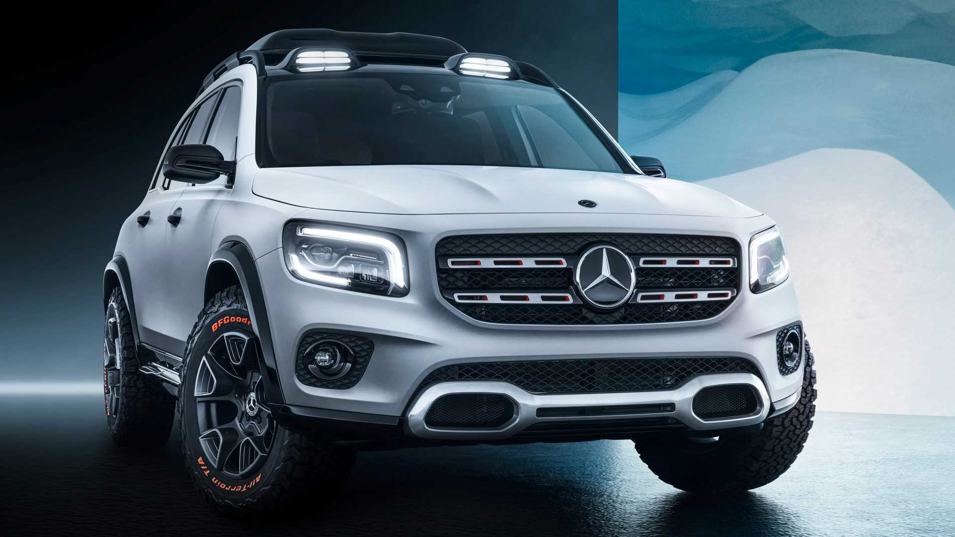 German car manufacturer Mercedes-Benz has started its 2019 Auto Shanghai program with the reveal of the Mercedes-Benz GLB, an SUV that looks like a downsized version of the Geländewagen