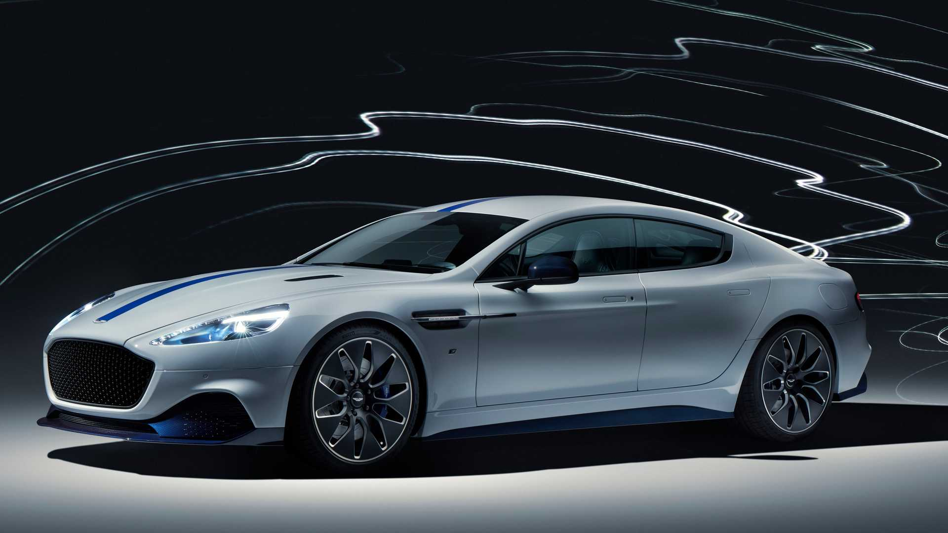 Aston Martin has come to the 2019 Auto Shanghai show with the final production copy of its Rapide E liftback