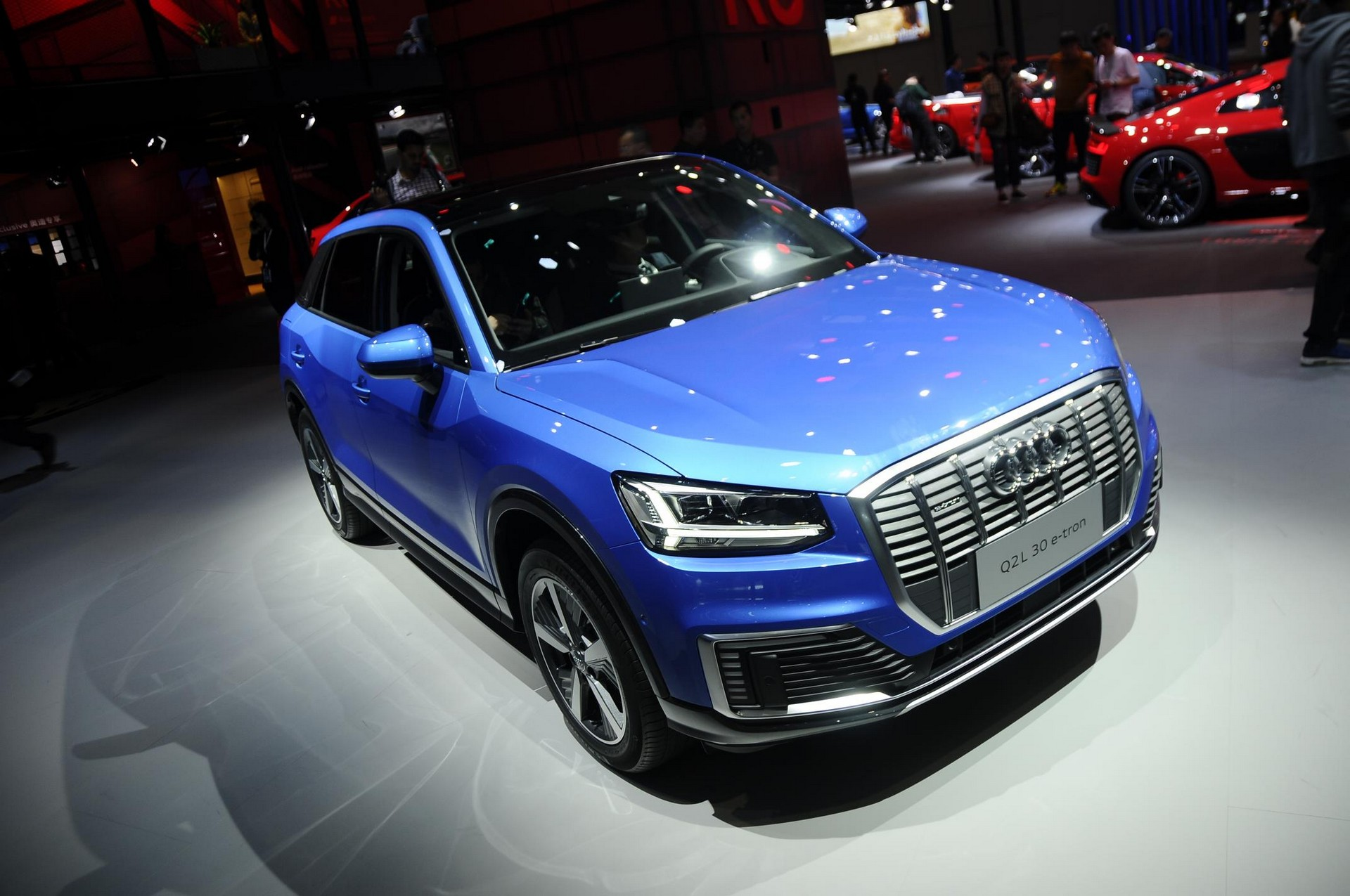 During the ongoing annual automobile show in Shanghai, China, Audi has presented its new all-electric SUV called the Q2L e-tron