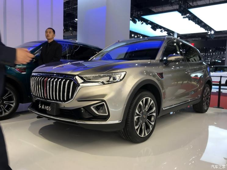 The Hongqi HS5, a luxury mid-size crossover SUV designed and produced by Chinese manufacturer FAW, has debuted at the annual automobile show in Shanghai