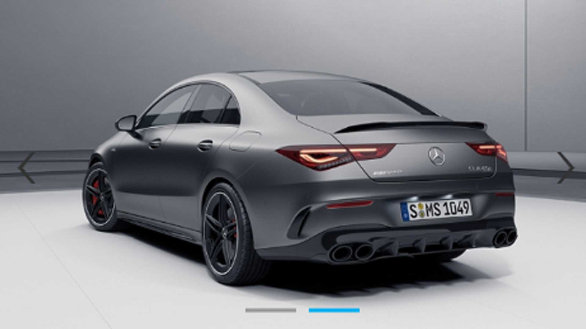 Whether by oversight or driven by an intention to arouse hype, Mercedes-Benz has let a photo of the upcoming Mercedes-AMG CLA 45 S leak ahead of the premiere