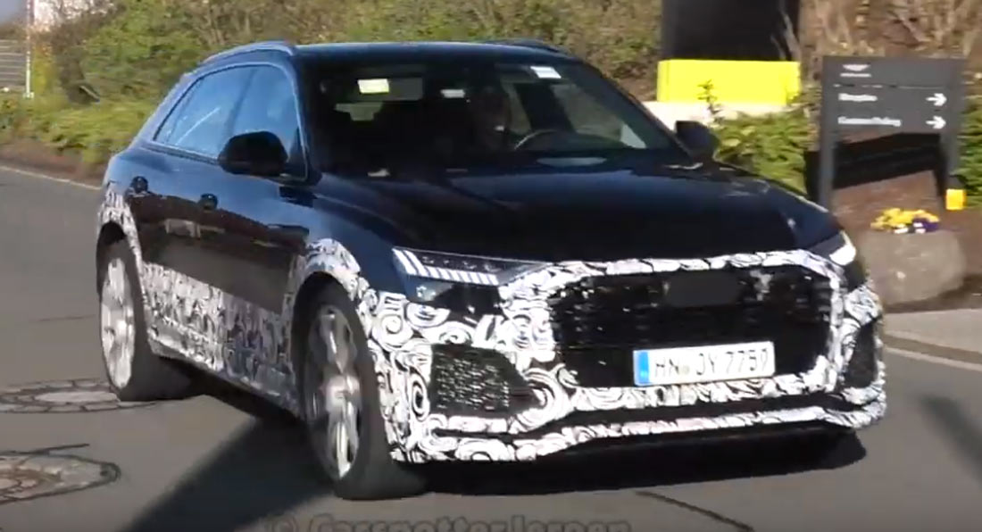 Audi will officially introduce its super-powerful RS Q8 SUV in the end of 2019