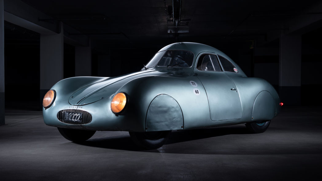 A Porsche Type 64, one of the first Porsche cars ever and the only surviving example of its kind – will soon go up on a sale in Monterey, CA