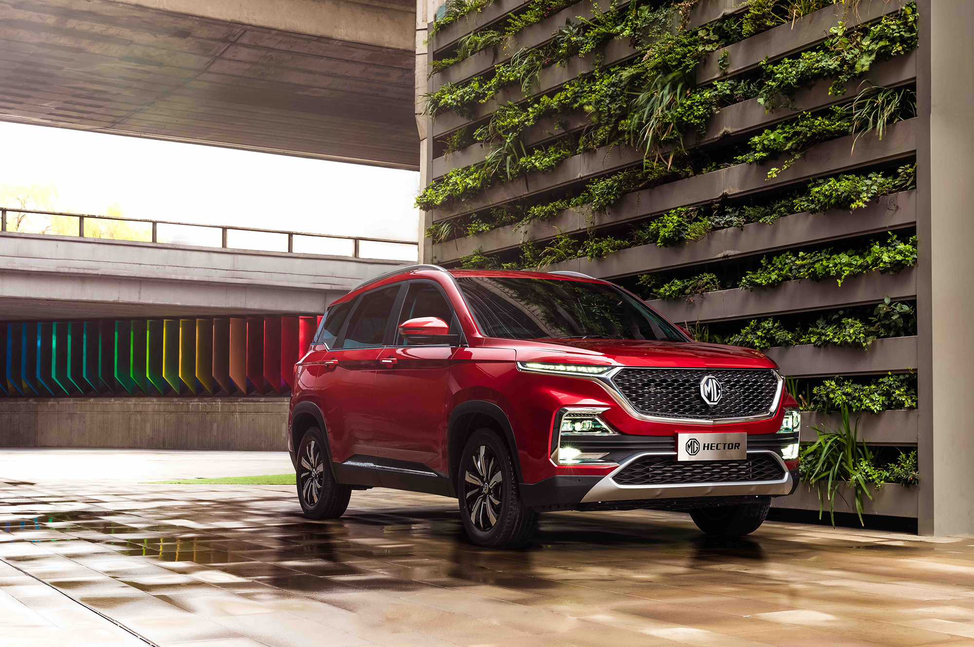 MG has launched its new mid-size SUV Hector in India