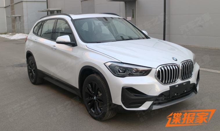BMW has uploaded photos of its facelifted BMW X1 to the database of the Chinese Ministry of Industry