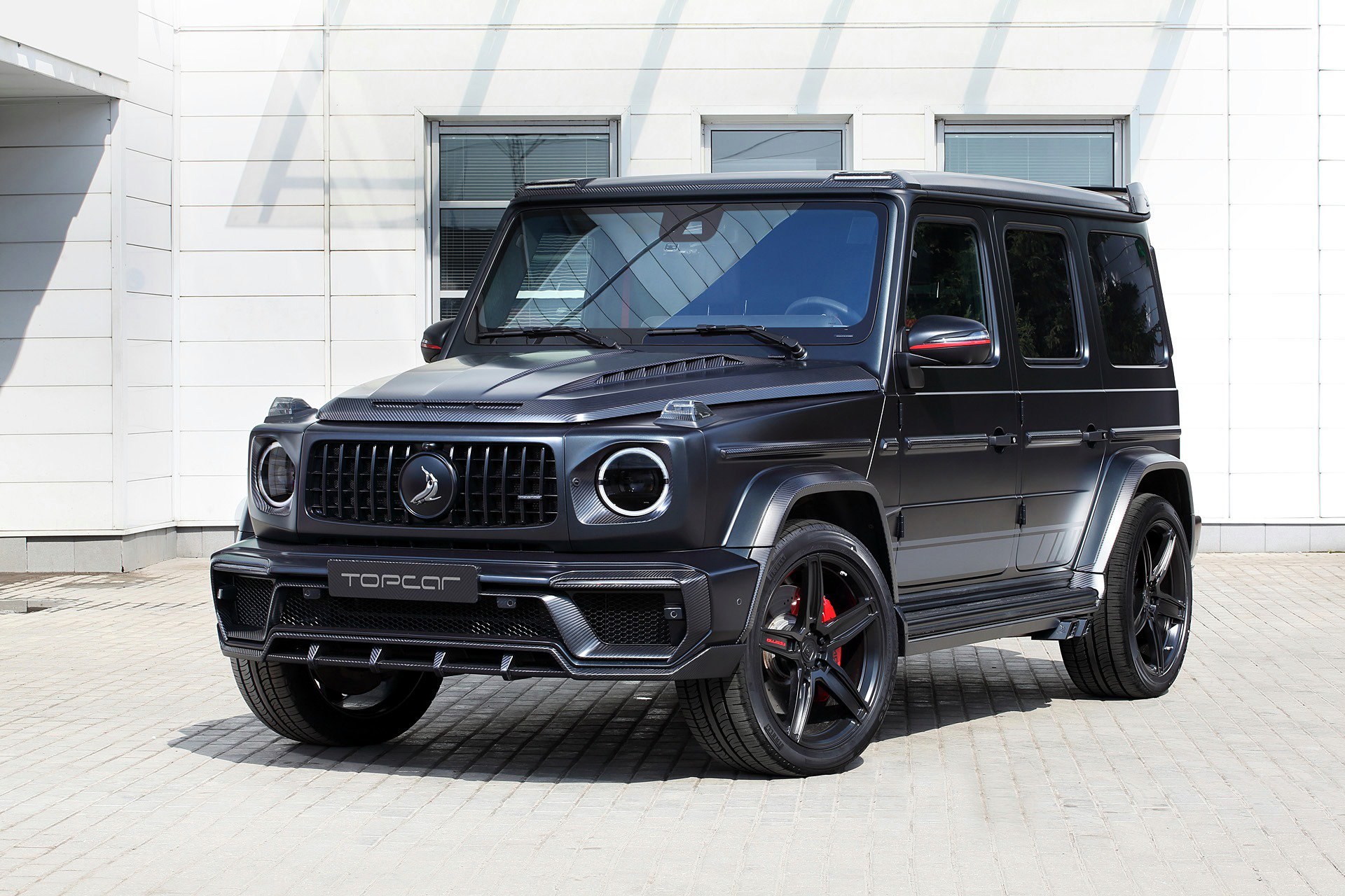 Russian tuner shop TopCar has made its popular Inferno body kit compatible with the 2019 Mercedes-AMG G63