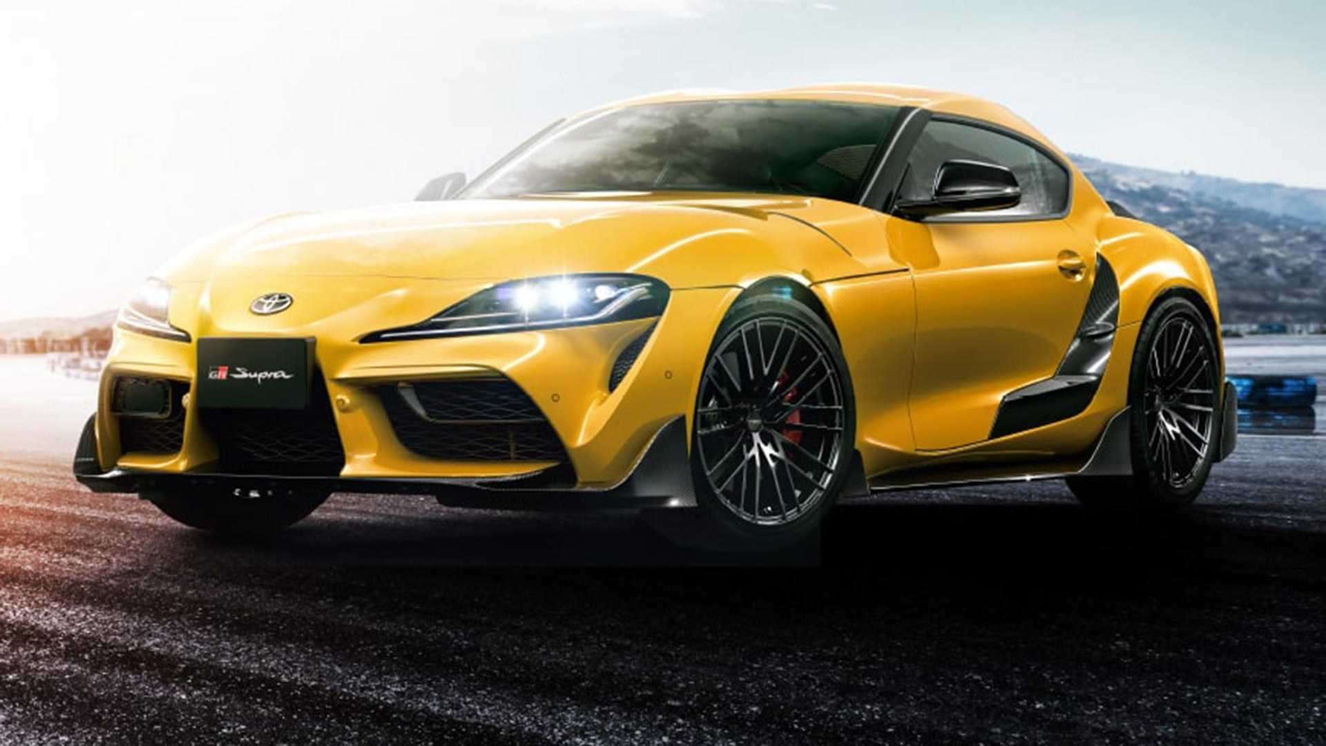 The Toyota Supra coupe series returns to the Japanese automobile market as the A90 after a 17-year-long hiatus