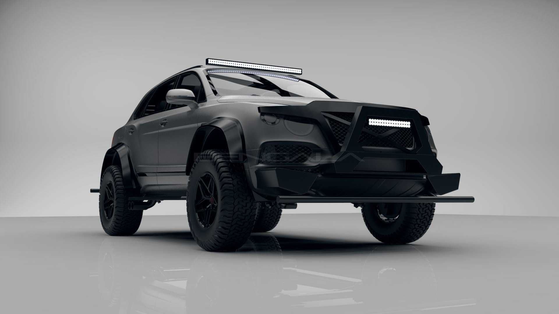 Spain-based car tuner Bengala Automotive Design SL has released teasers of a custom SUV based on the Bentley Bentayga