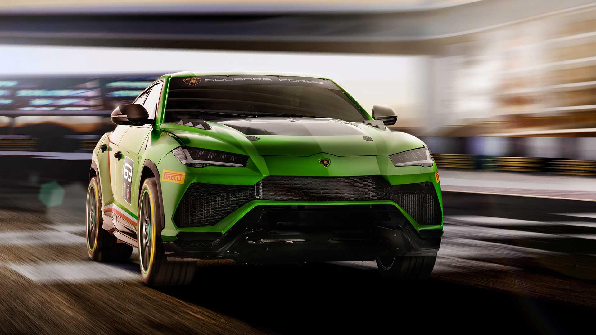 Компания «Ламборджини» принялась за разработку экстремальной модификации Urus, базой для которой стал прототип гоночного кроссовера ST-X