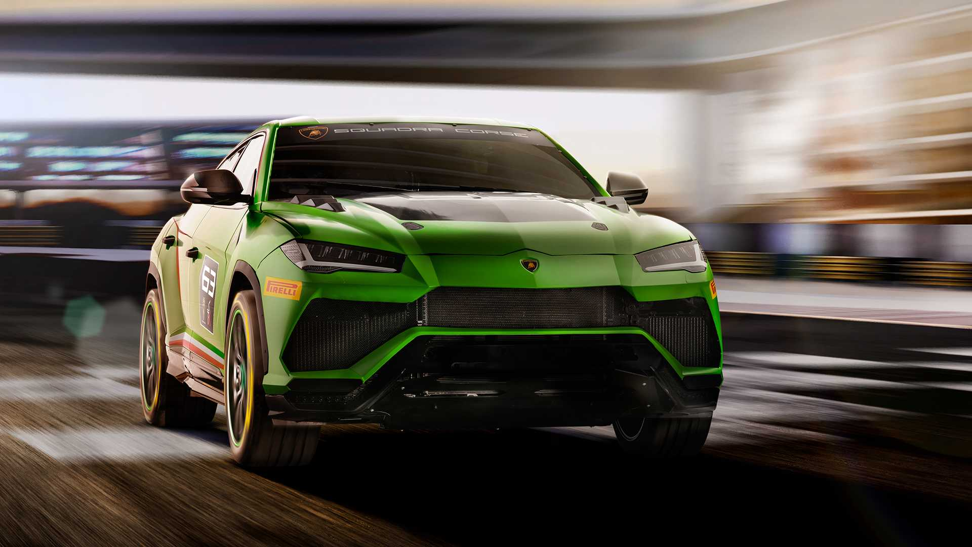 Lamborghini has begun working on a hardcore modification of its Urus luxury SUV