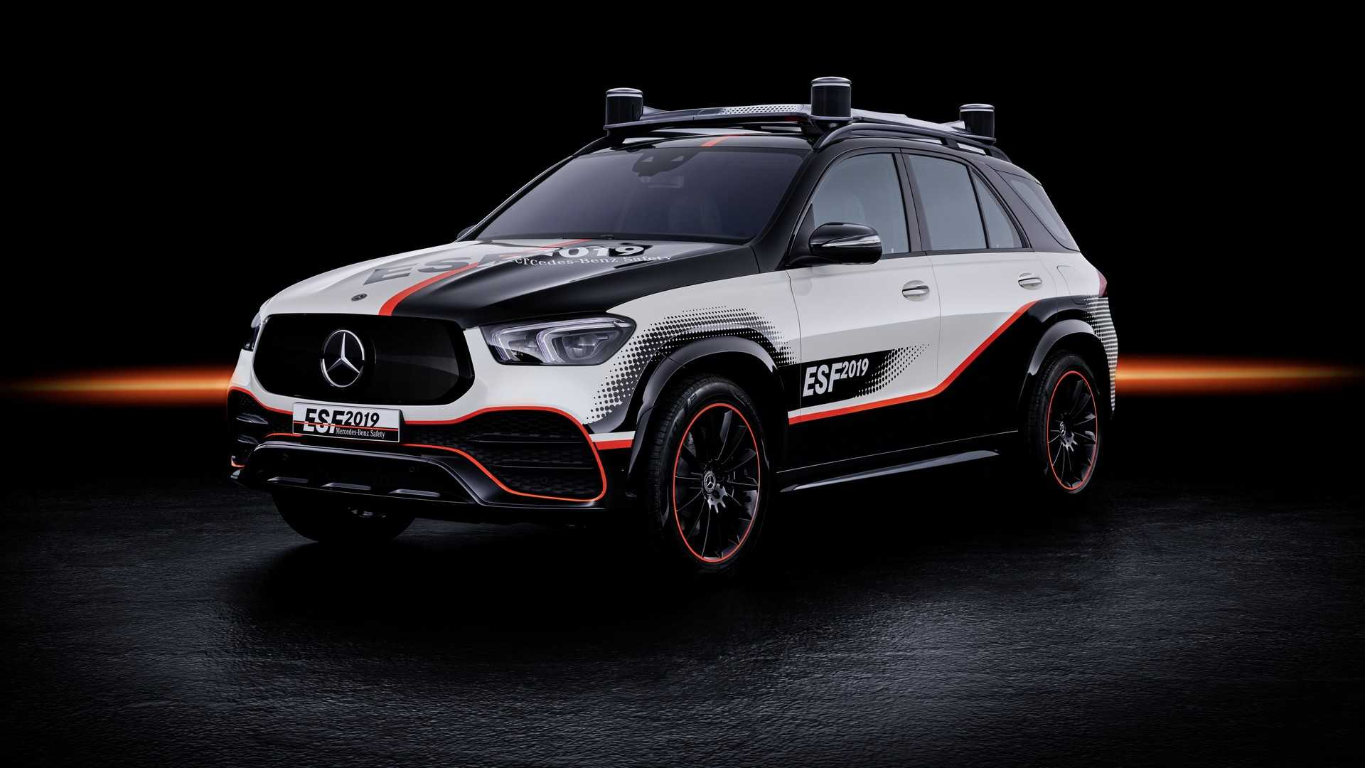 Mercedes-Benz презентовал новый прототип, созданный в рамках программы по разработке абсолютно безопасного автомобиля