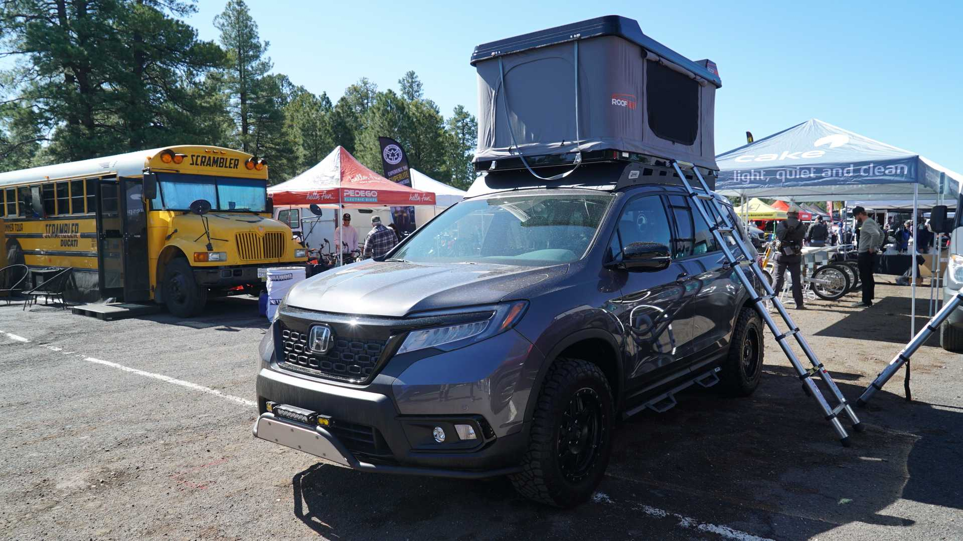 Special versions of the Honda Passport (SUV) and Ridgeline (pickup truck) have made an appearance at the ongoing 2019 Overland Expo in Arizona