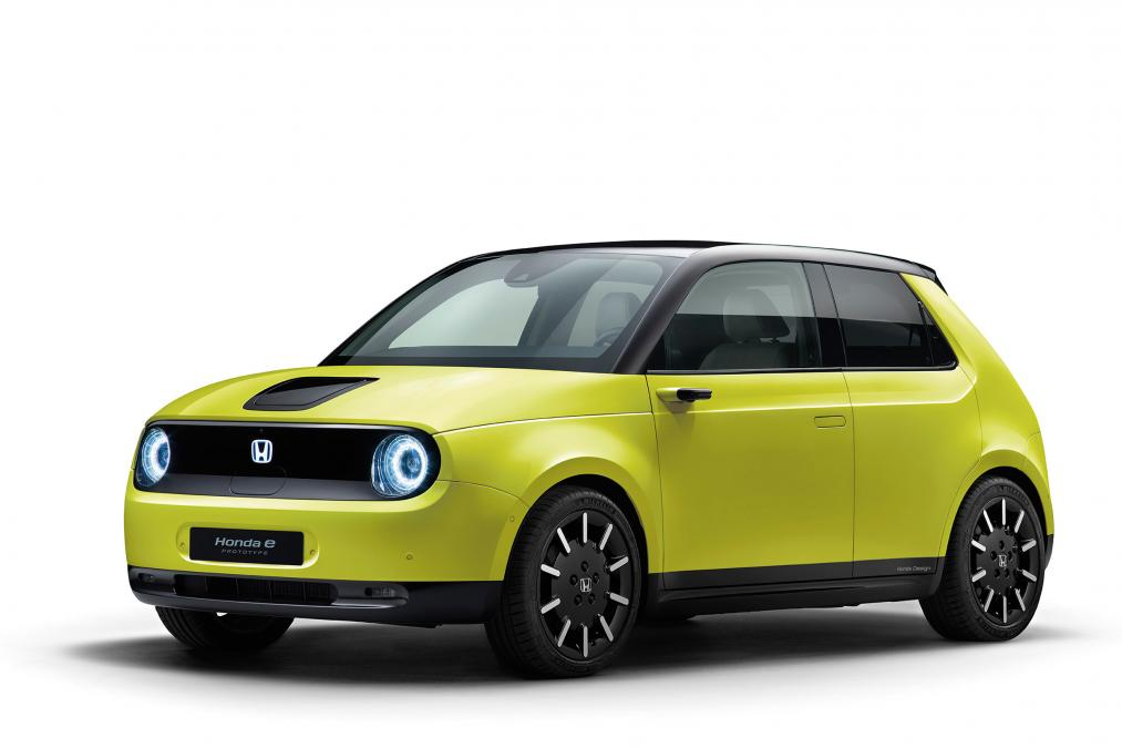 Honda has started processing pre-orders for its upcoming all-electric urban hatchback called simply the 'e' in Germany, France, Great Britain, and Norway