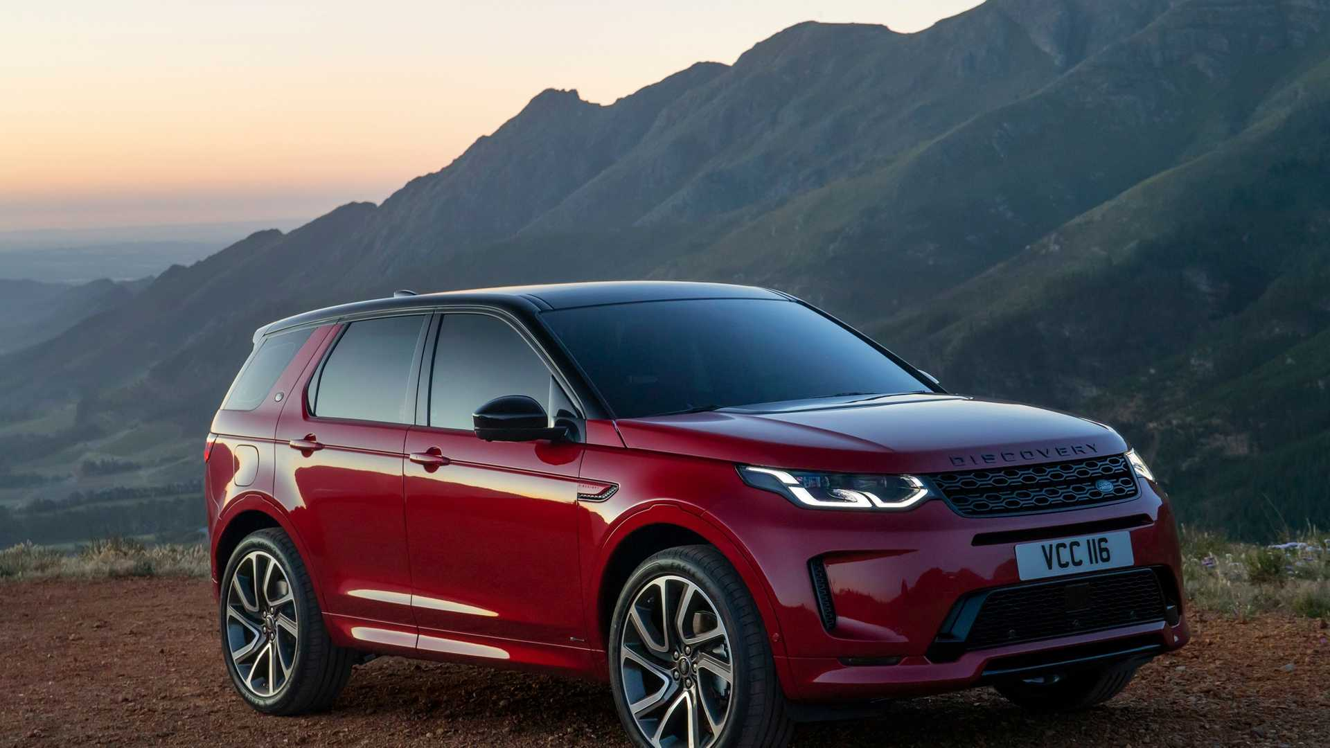 Land Rover has launched the Discovery Sport facelift
