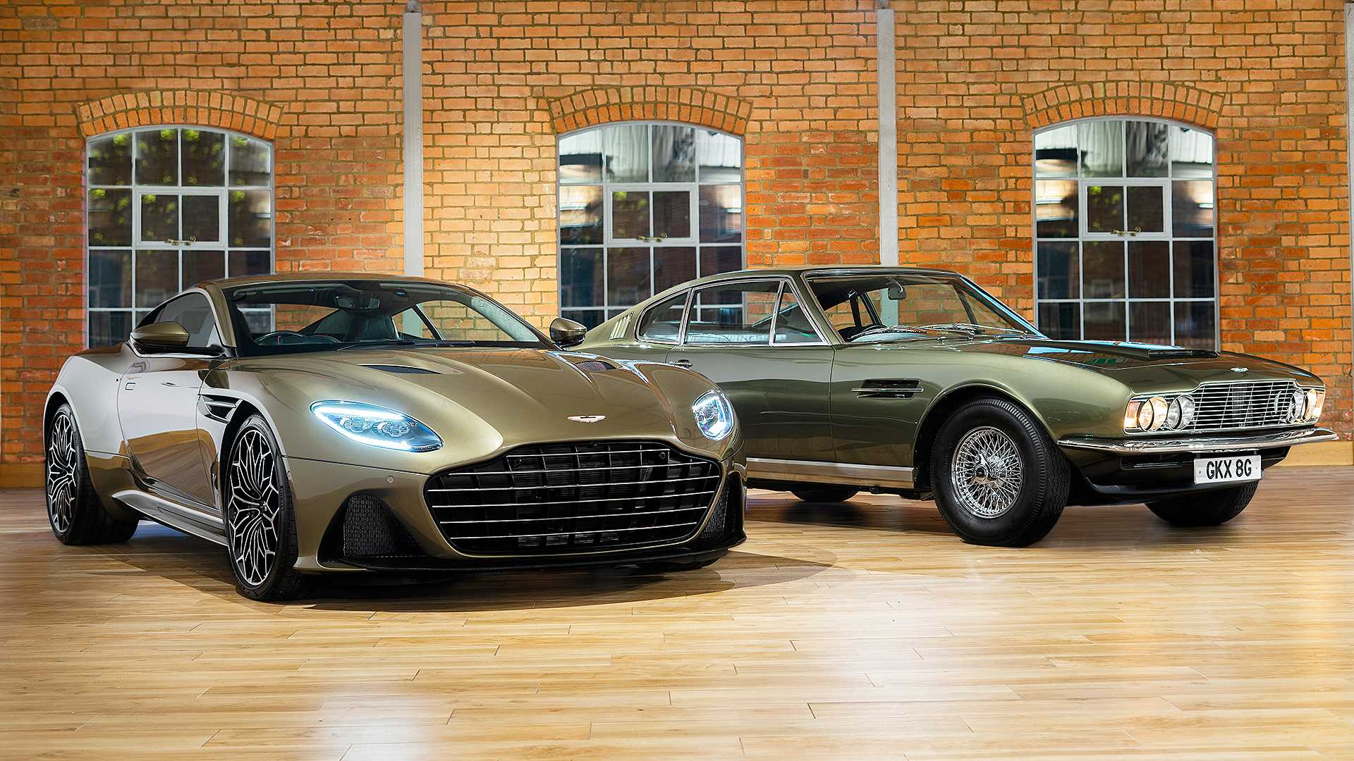 Aston Martin has taken the wraps off a special DBS Superleggera mini-series meant to celebrate 50 years of On Her Majesty's Secret Service, a 1969 James Bond movie