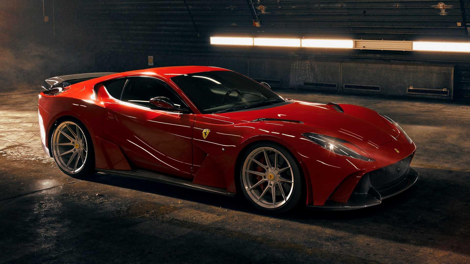 Немецкий тюнер Novitec на днях представил комплексную программу персонализации Ferrari 812 Superfast