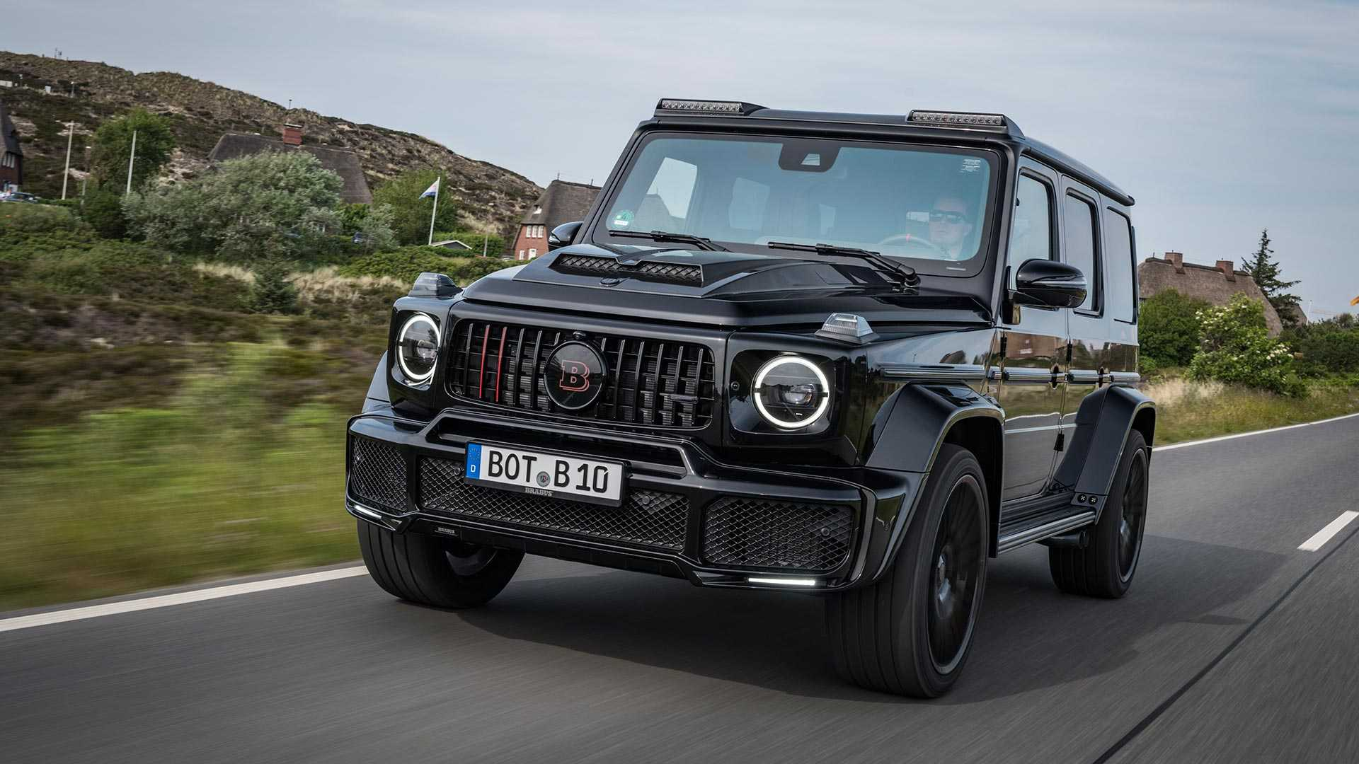 Luxury car customizer Brabus has come out with two limited editions of the Mercedes-Benz G-Class: the Blacks Ops 800 and the Shadow 800