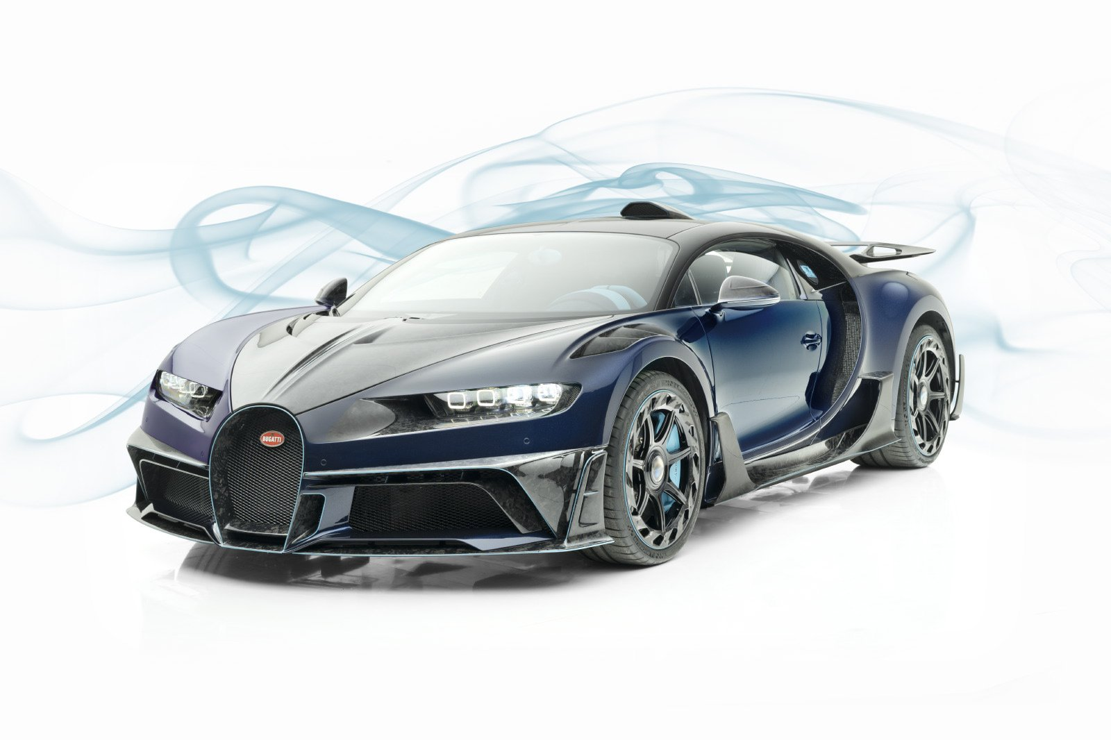 Called the Mansory Centuria, it wears an ultra-aggressive body kit from the titular tuning shop, made of pressed carbon fiber