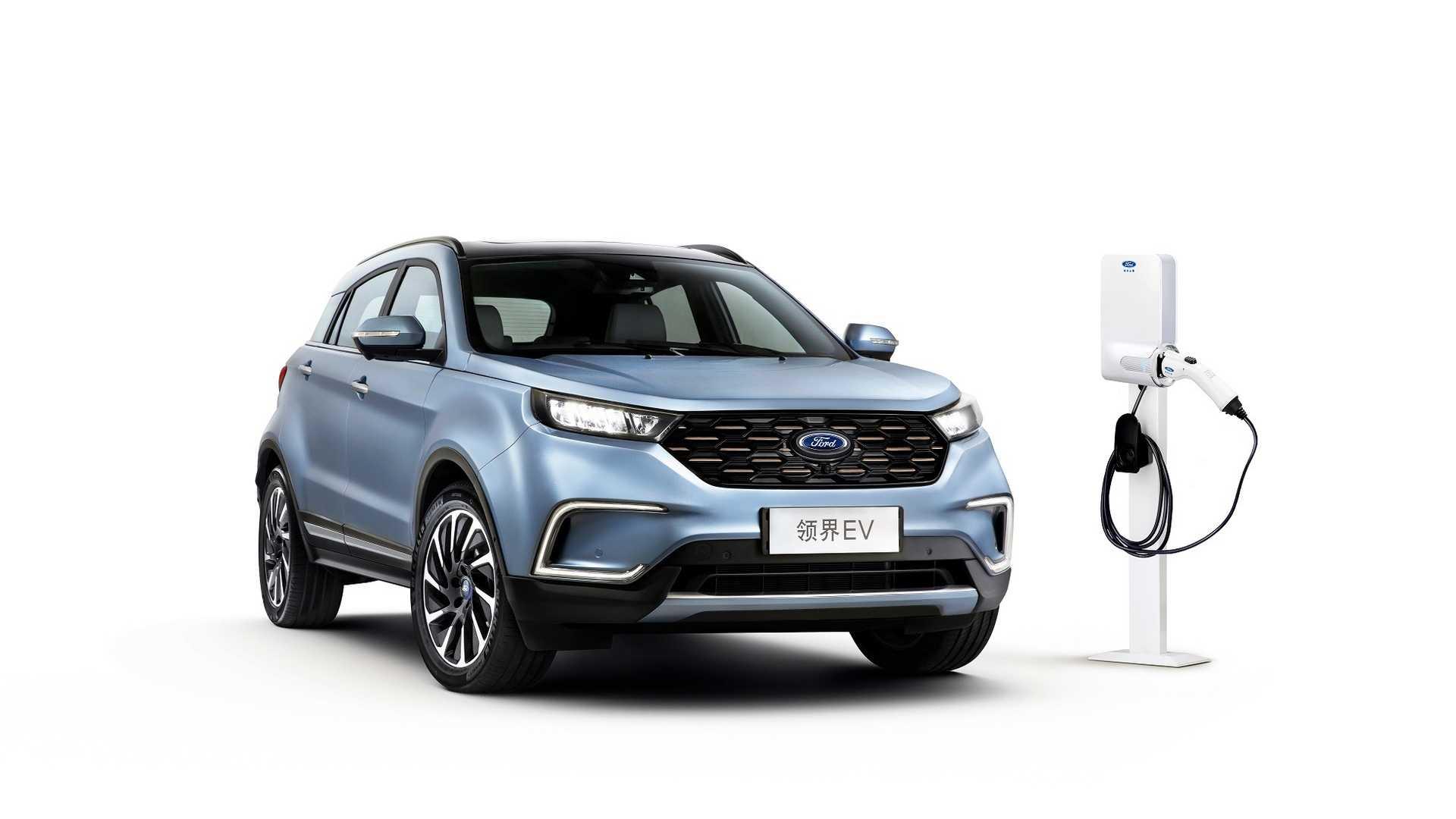 Компания Ford совместно со своим давним партнером Jiangling Motors Corporation разработала электрическую версию кросса Territory