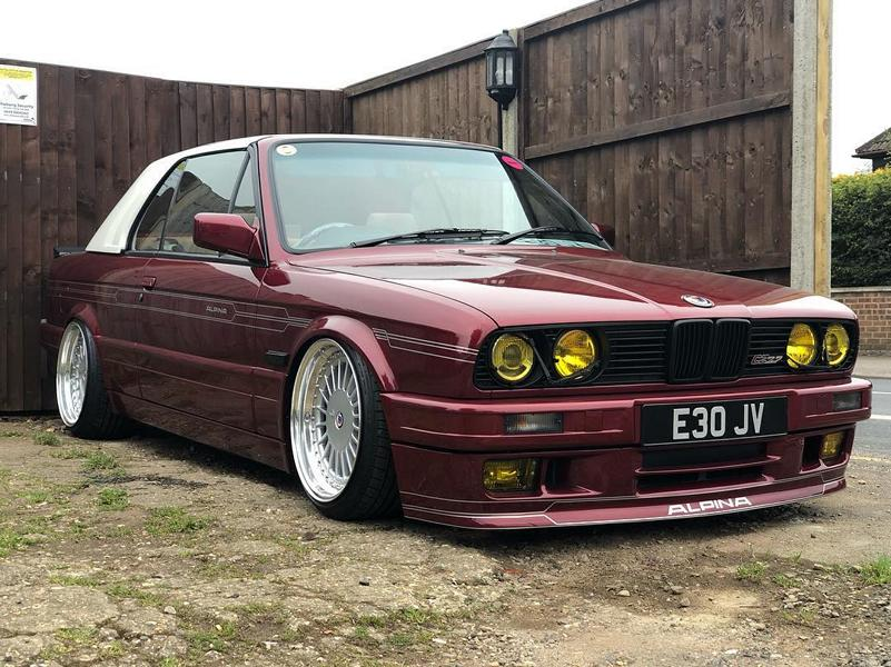 Looking at this convertible, you wouldn't believe this is an E30 BMW 3 Series dating back all the way to 1986