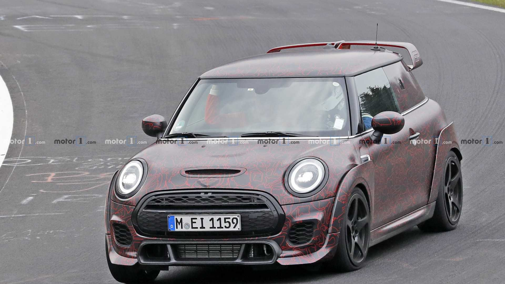 At the annual International Motor Show opening in Frankfurt, Germany, on September 12, 2019, the British carmaker will introduce the new Mini John Cooper Works (JCW) GP