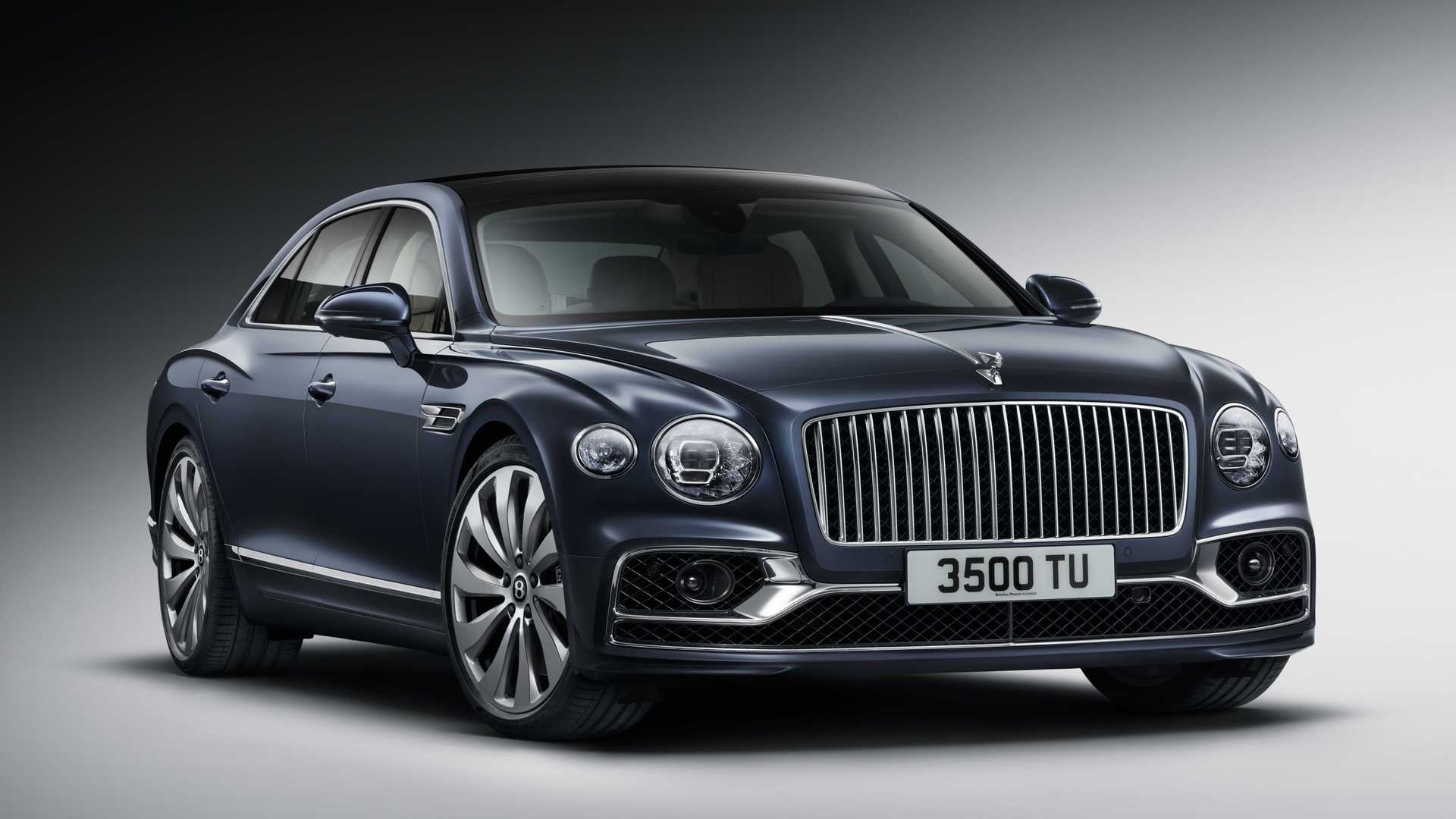Bentley has held a presentation dedicated to the upcoming third generation of its Flying Spur luxury sedan/saloon
