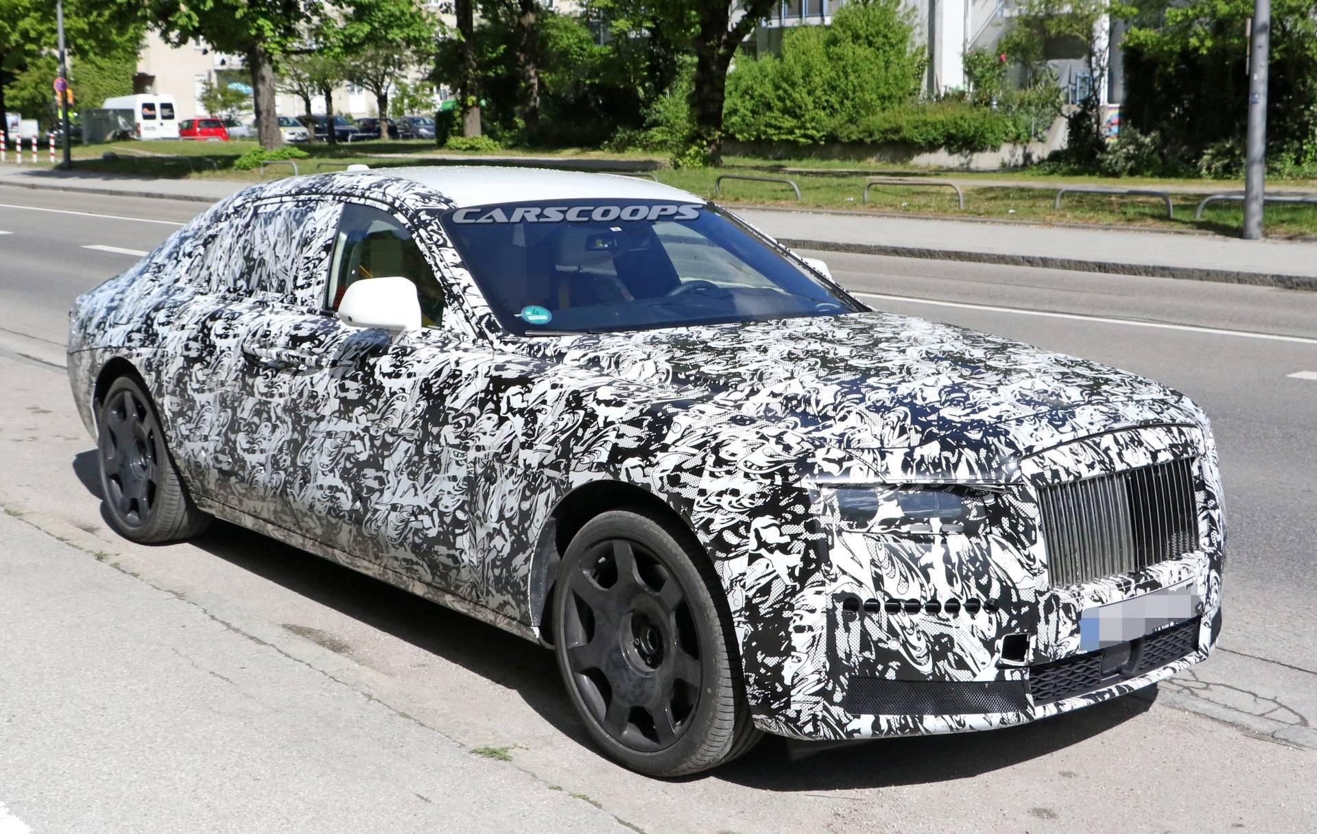 Совсем скоро нам представят новое поколение Rolls-Royce Ghost