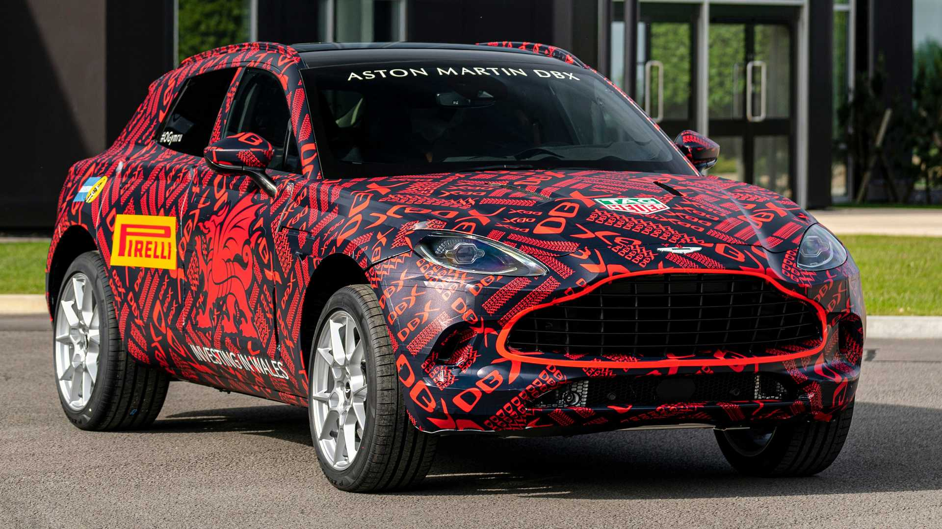 Aston Martin's second factory located in Saint Athan, Wales, Great Britain, has opened for business and is currently assembling pre-production samples of the upcoming DBX SUV