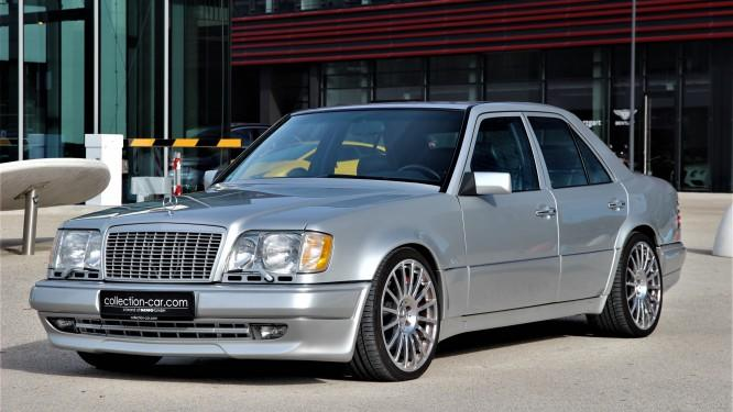 We have recently tumbled upon this rare and interesting copy of the Mercedes-Benz E 60 AMG (W124), a sedan/saloon dating back thirty-something years