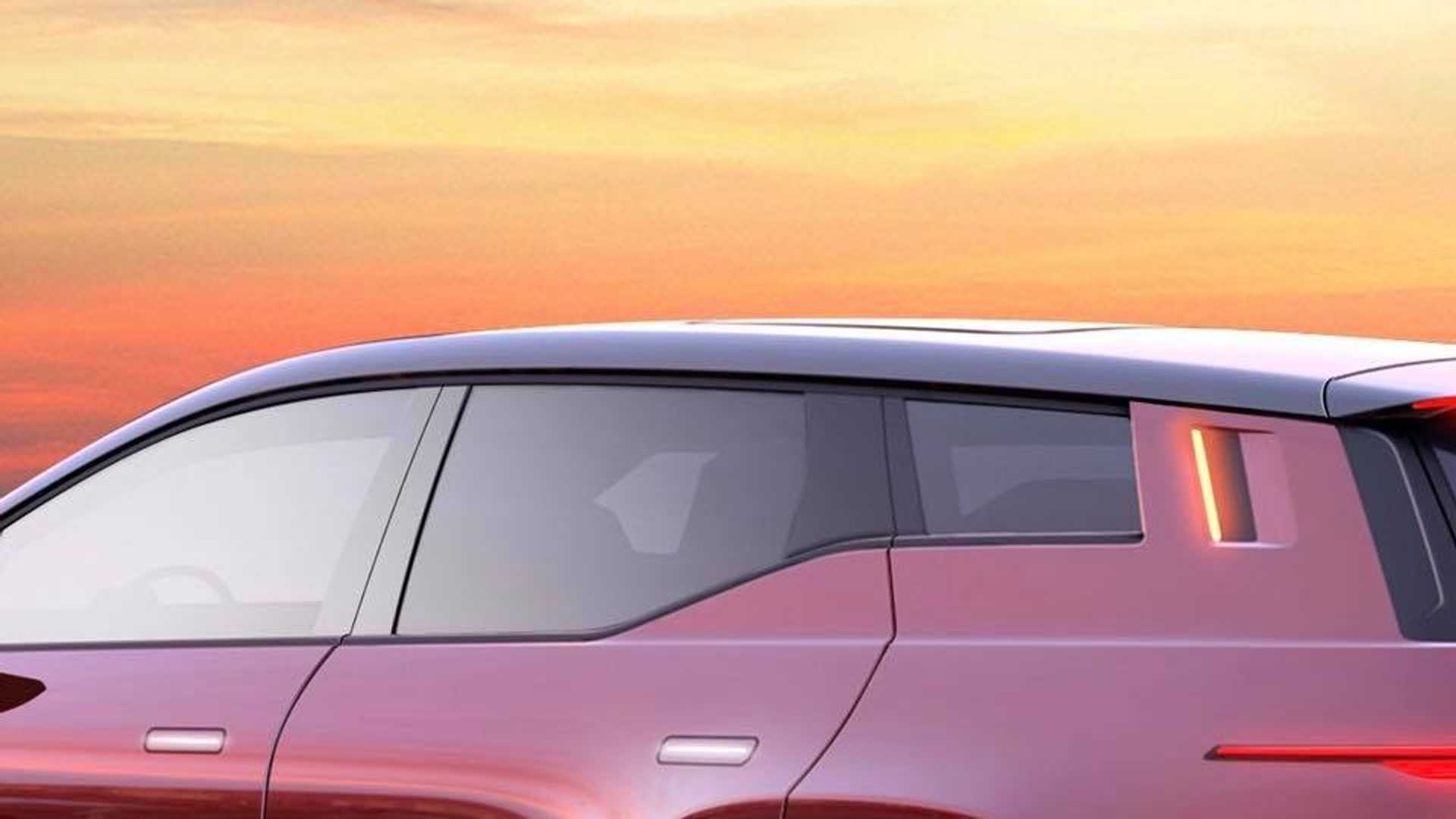 Fisker Automotive, an automobile company founded by Danish vehicle designer Henrik Fisker, has released the first teaser pic of its upcoming all-electric crossover SUV, which the company hopes will provide a worthy alternative to the Tesla Model Y