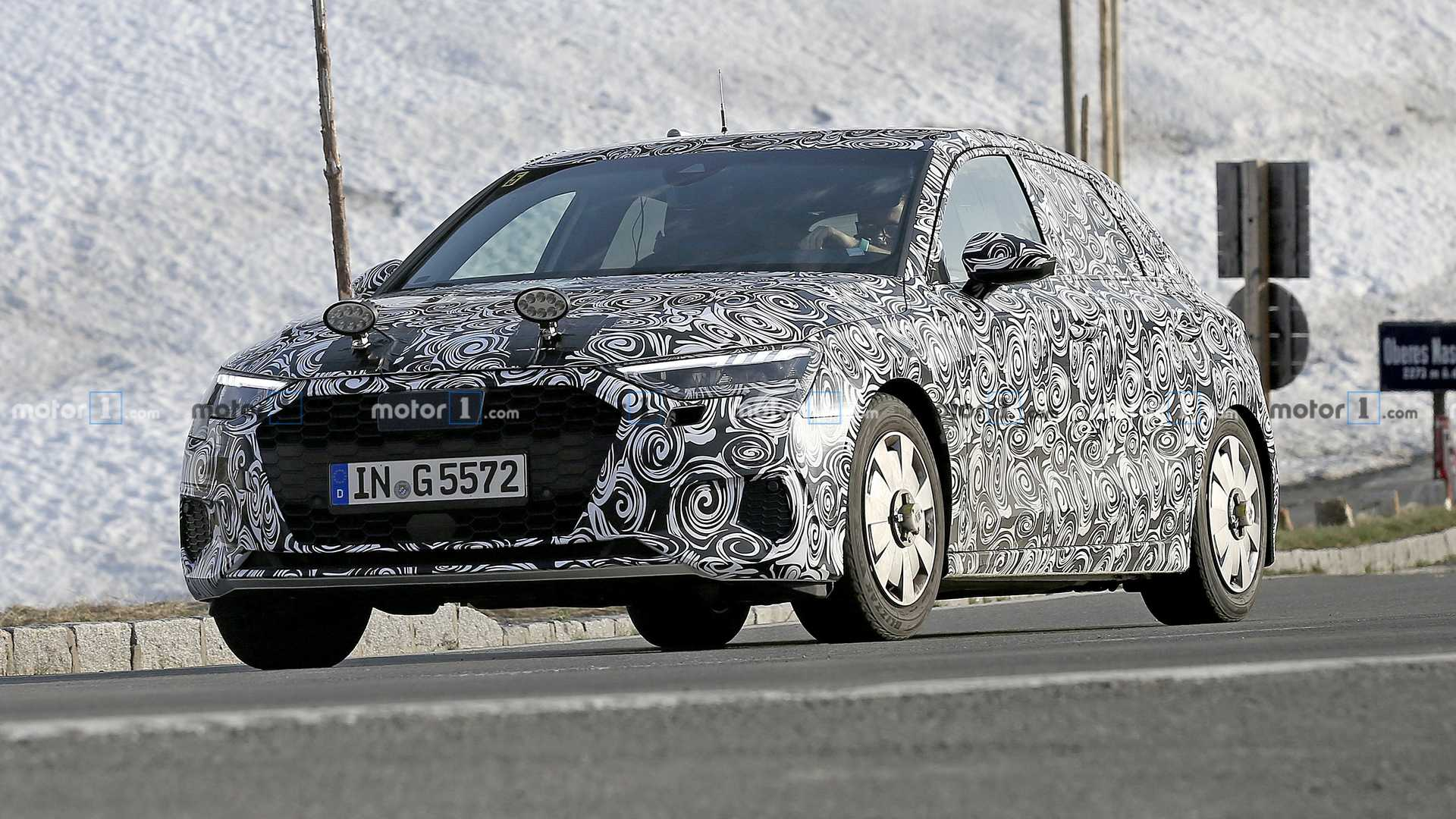 The next generation of the Audi A3 will arrive by the end of this year based on the up-to-date MQB architecture and tech of the VW Golf Mk8