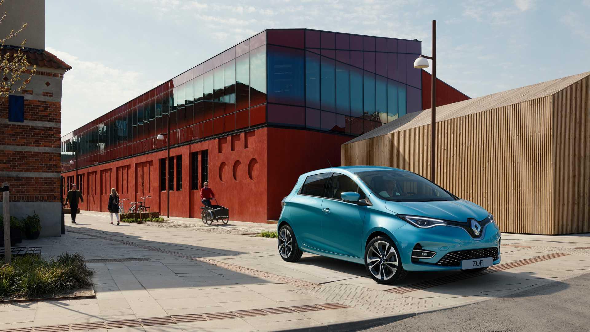 Модернизированные Renault Zoe появятся в Европе осенью 2019 года