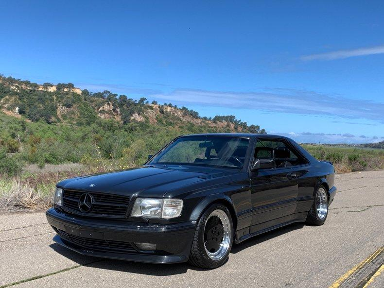Symbolic International just posted an ad for this gorgeous Mercedes 560 SEC AMG 6.0 (C126), the crowning jewel of the Mercedes-AMG S-Class range in the 1990s
