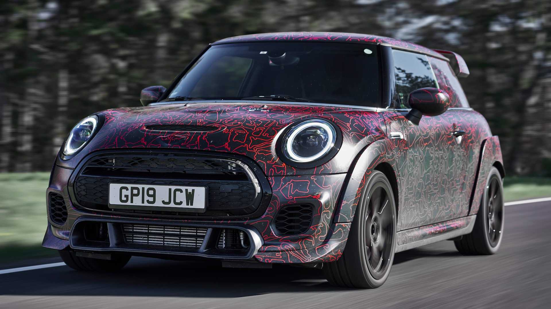 Car manufacturer Mini has demonstrated its upcoming fastest-and-greatest hot hatchback, the John Cooper Works GP, at the 24 Hours of the Nürburgring race last weekend