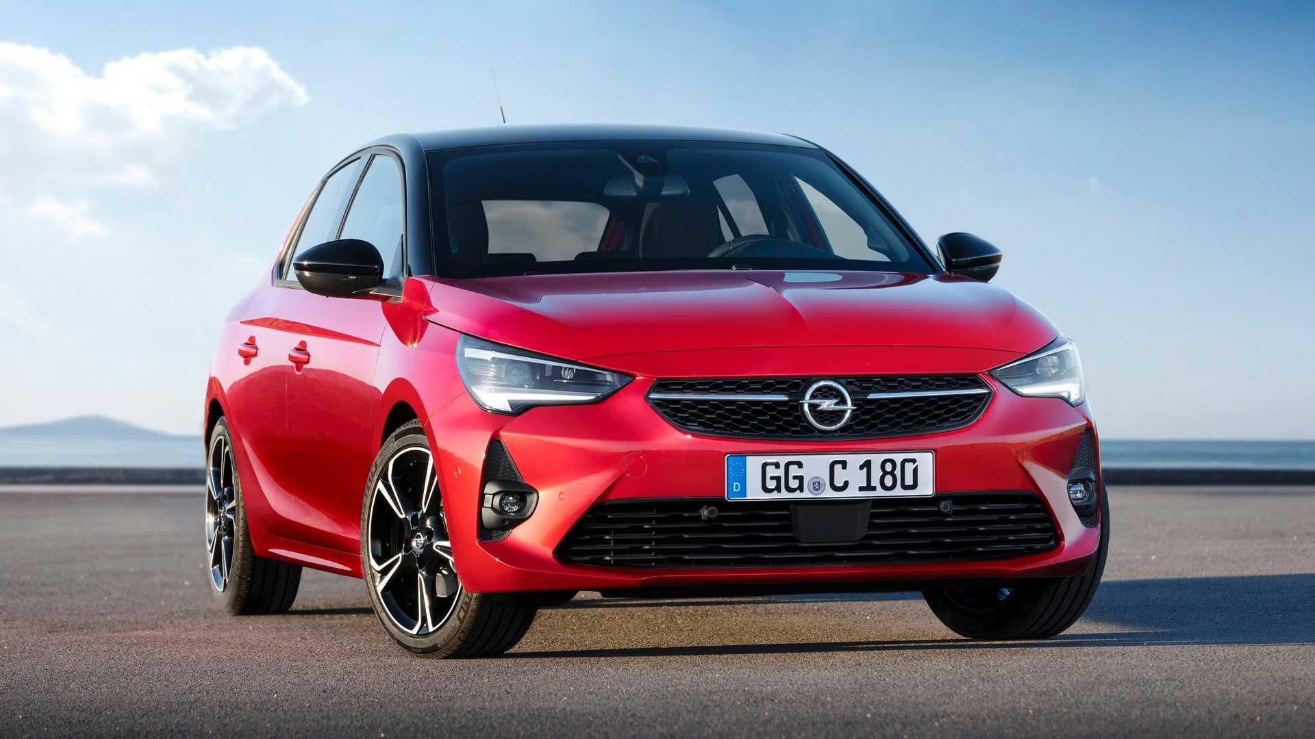 Автомобилестроительная компания «Опель» рассекретила стандартную модификацию хэтчбека Corsa шестой генерации