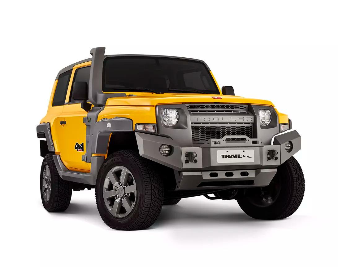 Бразильский бренд Troller, принадлежащий концерну Ford, представил спецверсию своего внедорожника Troller T4 под названием Trail.