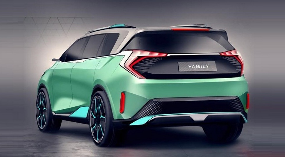 Just yesterday, we reported about the new Haima 8S SUV. Today, news reached us that the Chinese automobile marque – which has fallen on hard times lately, even facing closure – is working on a new seven-seat compact van based on the previously introduced VF00 Concept.
