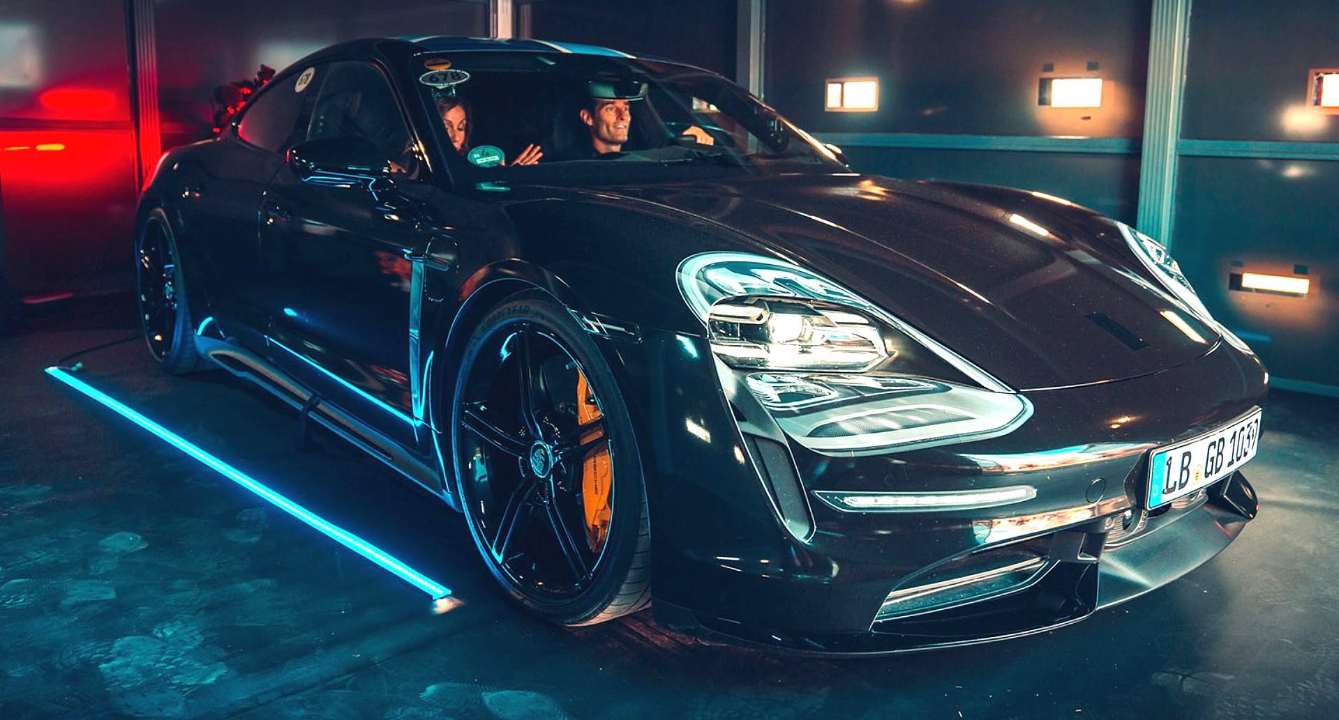 Серийная версия электрического Porsche Taycan уже сбросила почти весь камуфляж, премьера должна состояться осенью. И чтобы подогреть интерес к модели, производитель раскрыл набор модификаций.