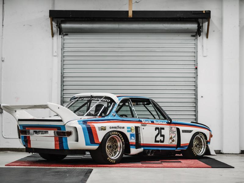 Car collector Henry Schmitt will be selling an ultra-rare 1974 BMW 3.5 CSL IMSA (E9) racecar at the nearest RM Sotheby's auction on August 15-17, 2019.