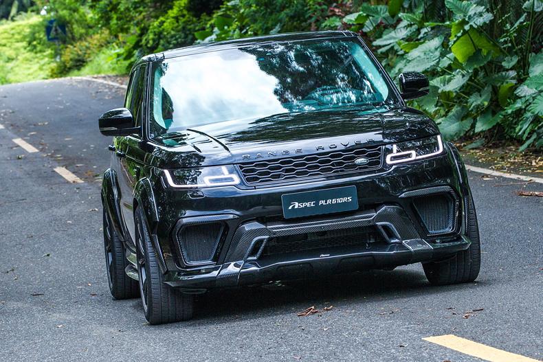 Буквально несколько дней назад мы рассказали о весьма удачном обвесе для кросс-купе Porsche Cayenne, выпущенном тюнинг-ателье ASPEC (Китай). А сегодня эта же команда представила обновленный боди-кит PLR610R для Range Rover Sport.